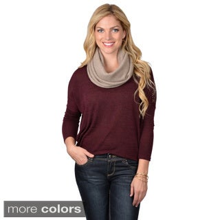 Portolano Women's Solid Color Cashmere Neckwarmer