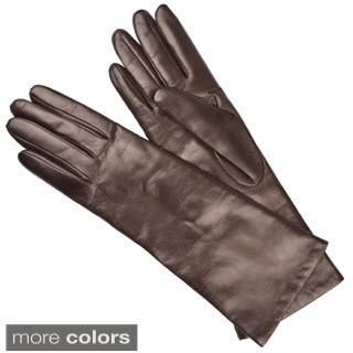Portolano Women's Cashmere Lined Leather Gloves