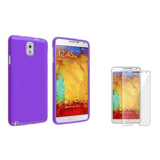 BasAcc TPU Case/ Screen Protector for Samsung Galaxy Note III N9000