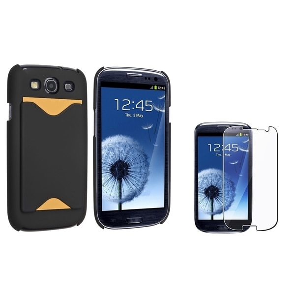 INSTEN Phone Case Cover/ Screen Protector for Samsung Galaxy S III/ S3 i9300