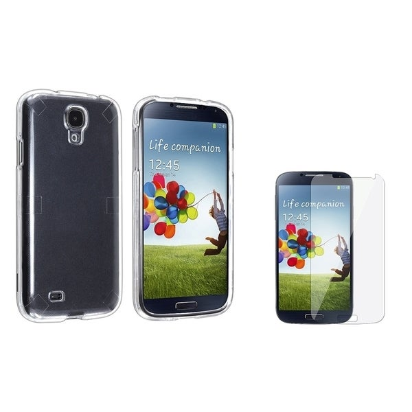 INSTEN Crystal Phone Case Cover/ Screen Protector for Samsung Galaxy SIV/ S4 i9500
