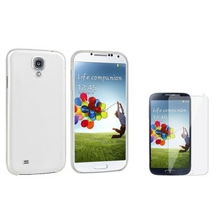 INSTEN Slim Phone Case Cover/ Screen Protector for Samsung Galaxy SIV/ S4 i9500