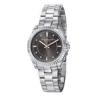 Stuhrling Original Women's Lady Marine Screw-down Swiss Quartz Bracelet Watch