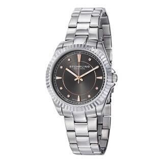 Stuhrling Original Women's Lady Marine Screw-down Swiss Quartz Bracelet Watch