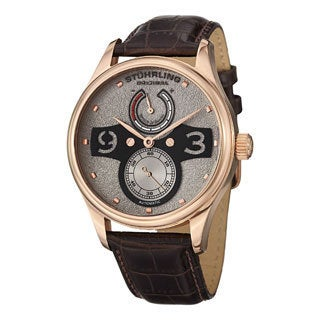 Stuhrling Original Men's Khepri Automatic Strap Strap Watch