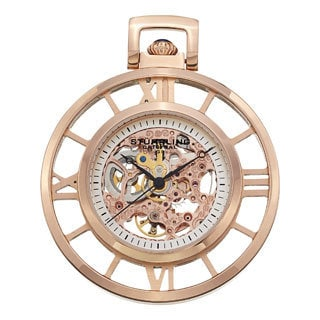 Stuhrling Original Men's Ancestor Mechanical Pocket Watch