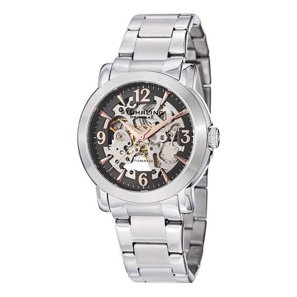 Stuhrling Original Men's Canterbury Automatic Bracelet Bracelet Watch