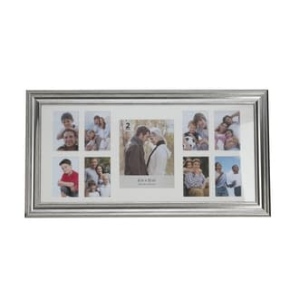 Melannco Champagne 9-photo Matted Collage Frame