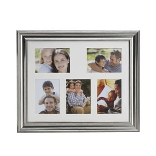 Melannco Champagne 5-photo Matted Collage Frame