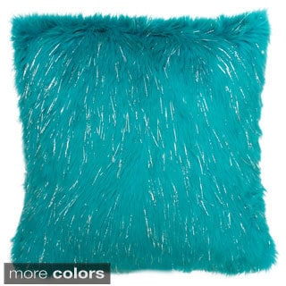 'Kristy' Furry Throw Pillow