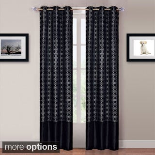 Windsor 84-inch Grommet Curtain Panels (4-piece Set)