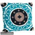 Suzani Design Down Fill Throw Pillow