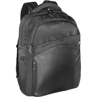 "V7 Edge CBD2 Carrying Case (Backpack) for 17.3"" Notebook - Black"