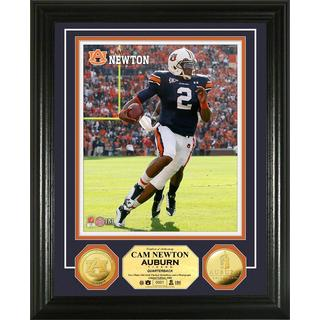 Cam Newton Auburn University Gold Coin Photo Mint