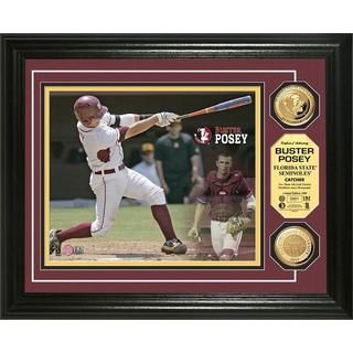 Florida State Buster Posey Gold Coin Photo Mint