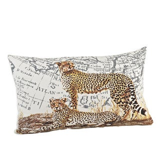 Cheetah Down Filled Design Down Fill Pillow