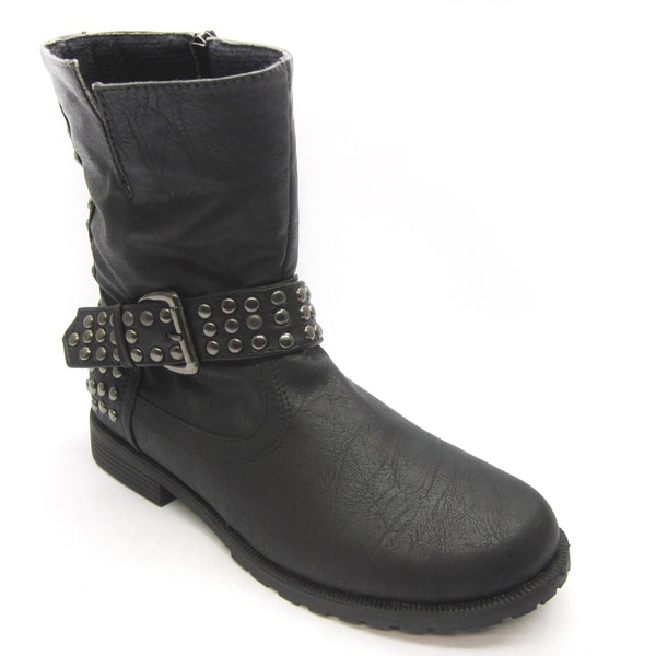 Blue Women's 'Frankie' Studded Boots