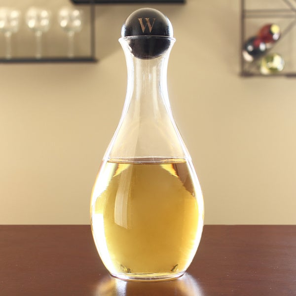 Personalized 33-ounce Wine Decanter