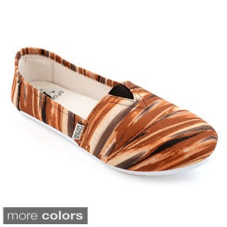 Corkys Women's Tiger Slip On Sues
