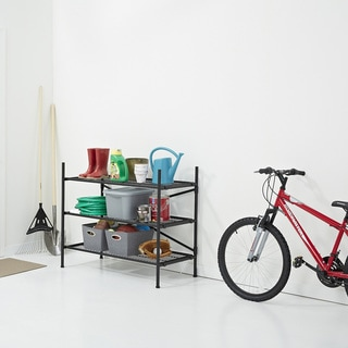 Instant Folding Shelf Storage Unit