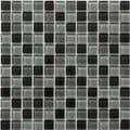 Martini Mosaic 12x12 Piazza Volcanic Ash (Pack of 10)