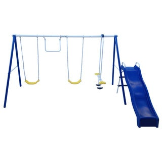 Flexible Flyer Swing N Fun Gym Set