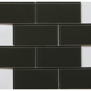 Martini Mosaic 14.75x11.75 Blocco Turtle Grey Tiles (Pack of 10)