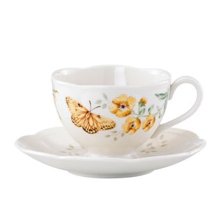 Lenox Butterfly Meadow Fritillary Cup and Saucer