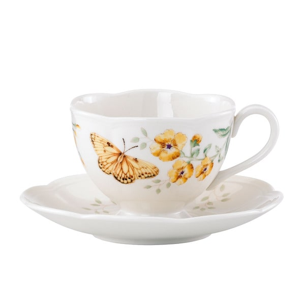 Lenox Butterfly Meadow Fritillary Cup and Saucer 11974535