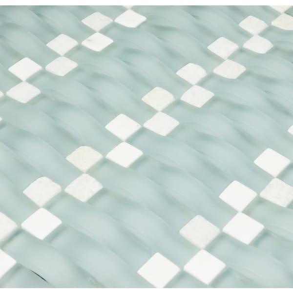 Martini Mosaic 12x12 Vento Tropical Mist Tile Sheets (Pack of 5)