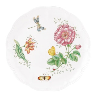 Lenox Butterfly Meadows Dragonfly Dinner Plate