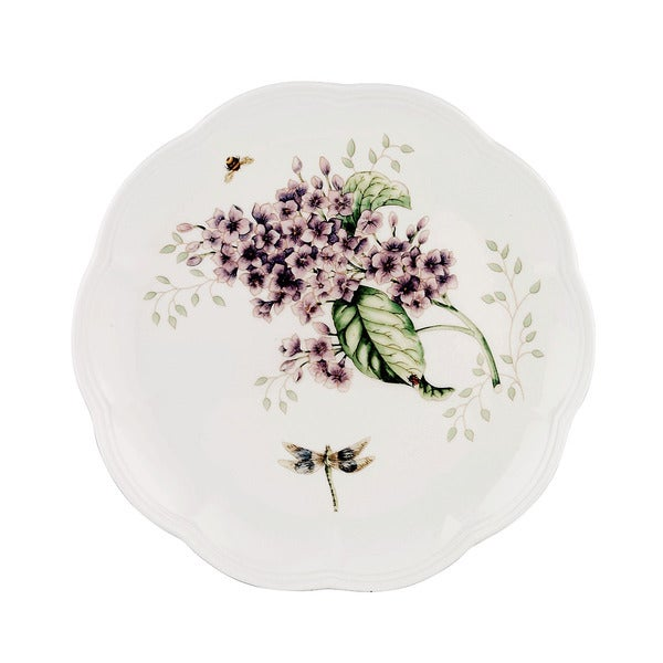 Lenox Butterfly Meadow Orange Sulphur Accent Plate