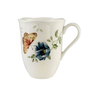 Lenox Butterfly Meadow Fritillary 12-ounce Mug