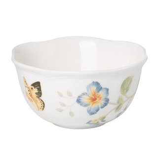 Lenox Butterfly Meadow 12-ounce Dessert Bowl