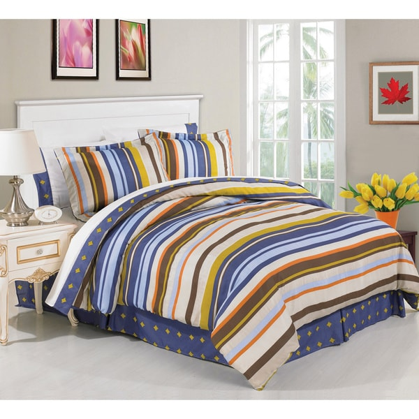 Murray 8-piece Bed in a Bag with Sheet Set