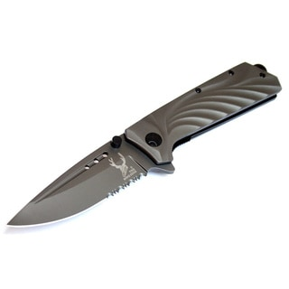 The Bone Edge 8.5-inches Spring Assisted Folding Knife