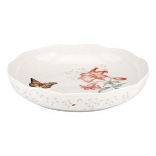Lenox Butterfly Meadow Low 10.75-inch Serving Bowl