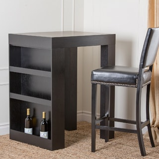 Abbyson Living Espresso Wood Bar Table