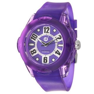 Tendence Women's 'Rainbow XL' Polycarbonate Quartz Watch