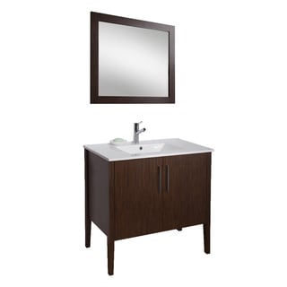 VIGO 36-inch Maxine Single Bathroom Vanity with Mirror