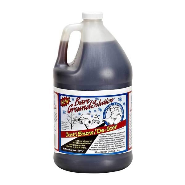 Bare Ground 1-gallon Liquid Ice Melt Jug