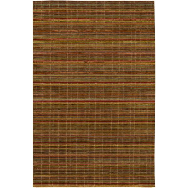 Mystique Substance Multicolored Rug (7'9 x 9'9)