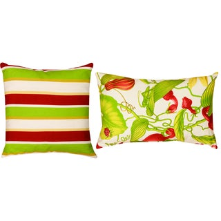 Lindy/Arabel Polyester Decorative Throw Pillows (Set of 2)