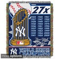 MLB World Series Woven Tapestry Throw (Multi Team Options)