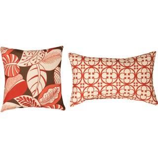 Tuscan/Terre Santa Fe Polyester Decorative Throw Pillows (Set of 2)