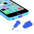 INSTEN Headset Dust Cap/ USB Port Plug for Apple iPhone 5/ 5S/ 5C/ 4S/ 4/ 6