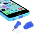BasAcc Headset Dust Cap/ USB Port Plug for Apple iPhone 5/ 5S/ 5C