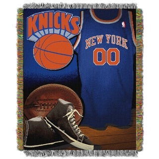 NBA New York Knicks Woven Tapestry Throw