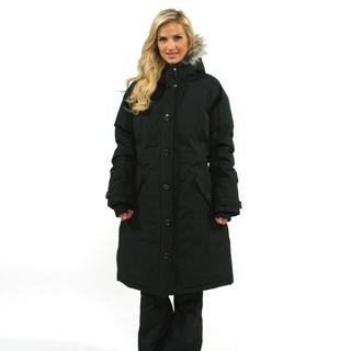 The North Face Women's X-Large TNF Black Tremaya Parka Jacket