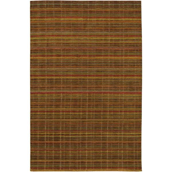 Mystique Substance Multicolored Rug (4'10 x 7'10)
